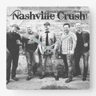 Nashville Crush Clock