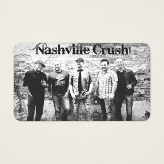 Nashville Crush Matte Business Card
