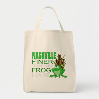 Nashville Finer Than Frog Hair Grocery Tote