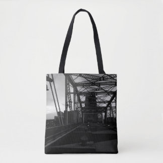 Nashville from a Bridge Tote Bag