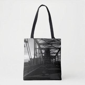 Nashville from a Bridge Tote Bag