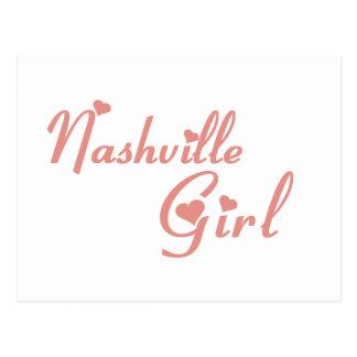 Nashville Girl tee shirts Postcard