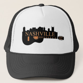 Nashville Guitar Trucker Hat