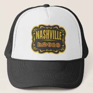 nashville h2010 trucker hat