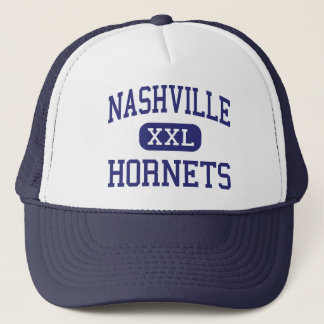 Nashville Hornets Middle Nashville Illinois Trucker Hat