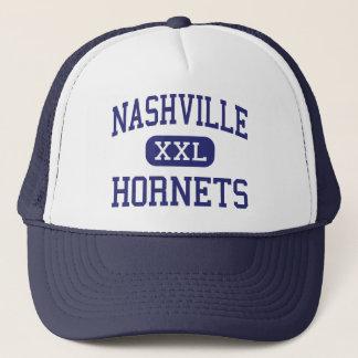 Nashville Hornets Middle Nashville Illinois Trucker Hat