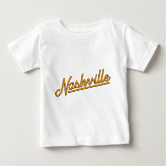 Nashville in Orange Baby T-Shirt