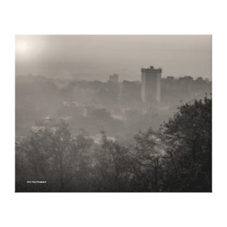 Nashville in the Morning Canvas Print