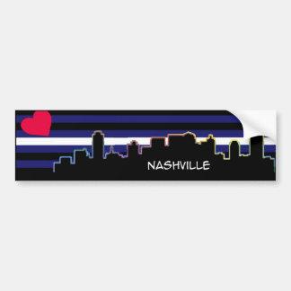 Nashville Leather Pride Bumper Sticker