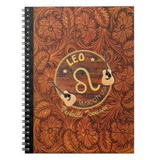 Nashville Leo Spiral Notebook