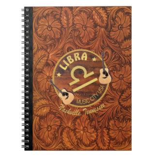 Nashville Libra Spiral Notebook