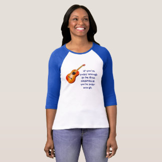 Nashville -- Lucky enough - Women's t-shirt