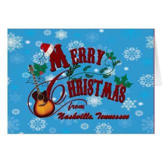 Nashville Merry Christmas Card