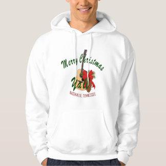 Nashville Merry Christmas Yall Men's Sweatshirt