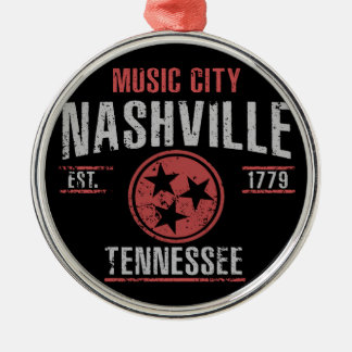 Nashville Metal Ornament