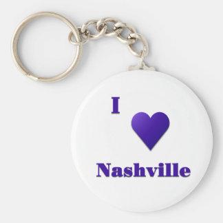 Nashville -- Midnight Blue Keychain