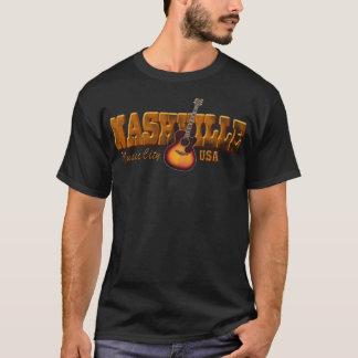 Nashville Music City Bronze Men's Dark T-Shirt
