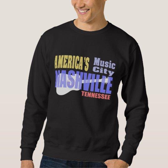 Nashville Music City Men's Basic Sweatshirt