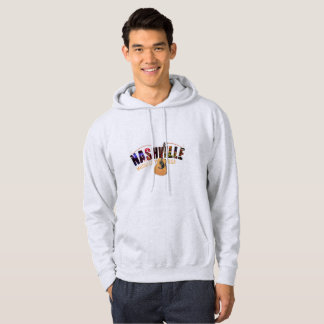 Nashville Music City USA Mens Hoodie