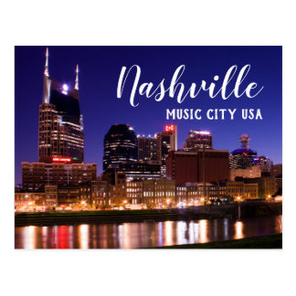 Nashville --- Music City USA Postcard