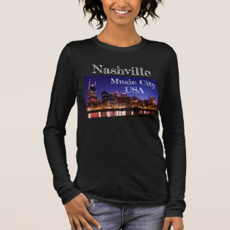 Nashville -- Music City USA -T Long Sleeve T-Shirt