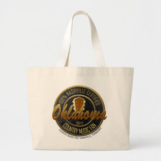 Nashville OK Country Music Fan Jumbo Tote
