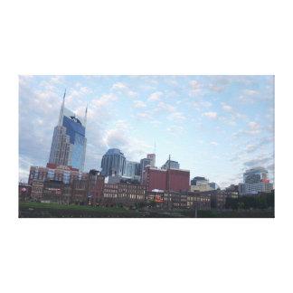 Nashville Panorama Canvas Print