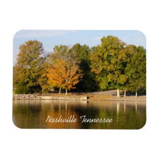 Nashville Park Rectangular Photo Magnet