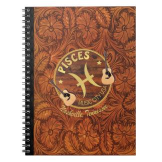 Nashville Pisces Spiral Notebook