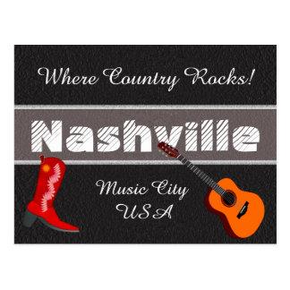 Nashville - postcard