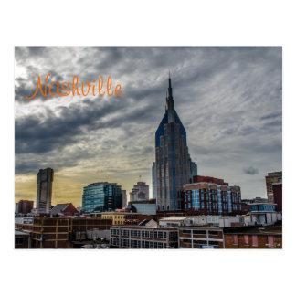 Nashville Postcard w/text