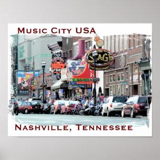 Nashville - poster art