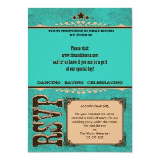 Nashville Response Card:  Turquoise _NOLINES Card