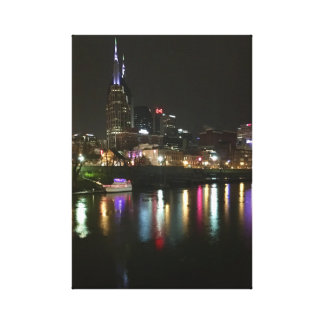 Nashville Riverfront Canvas Print