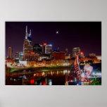 Nashville Skyline Posters