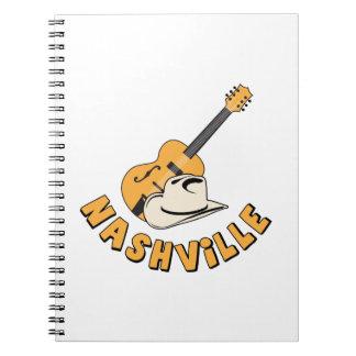 Nashville Spiral Notebook