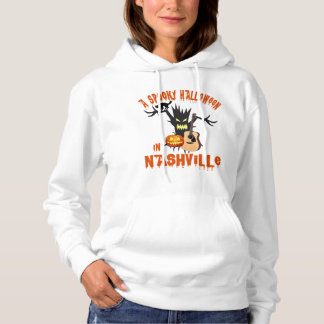 Nashville Spooky Halloween Women's Hoddie Hoodie