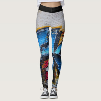 Nashville Street Art Leggings