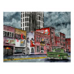 nashville tennessee country music capital art print
