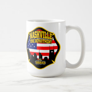 Nashville Tennessee Fire Department Mug