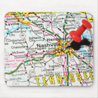 Nashville, Tennessee Mouse Pad