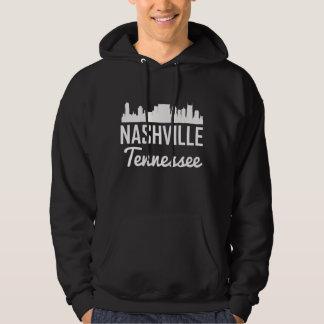 Nashville Tennessee Skyline Hoodie