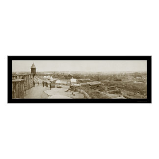 Nashville TN Ft Negley Photo 1864 Poster