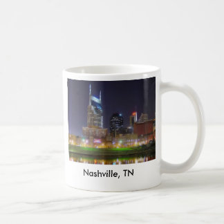 Nashville, TN Music City USA Coffee Mug