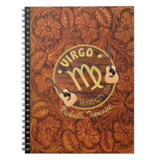 Nashville Virgo Photo Notebook