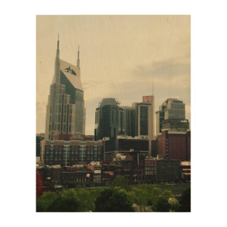 Nashville Wood Wall Decor