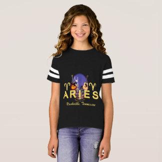 Nashville Zodiac Aries Girl's Football Shirt