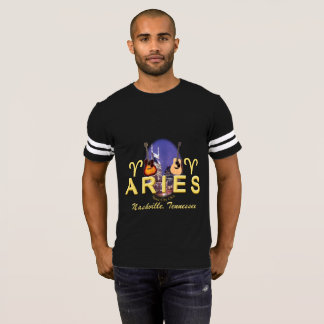 Nashville Zodiac Aries Men's Football T-Shirt