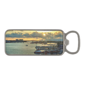 Nassau at Sunrise Magnetic Bottle Opener