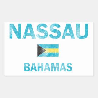 Nassau Bahamas Designs Sticker